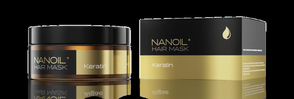 Nanoil - Maska do włosów z keratyną - HIT!